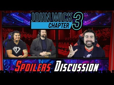 AngryJoeShow - John wick chapter 3 spoilers discussion!