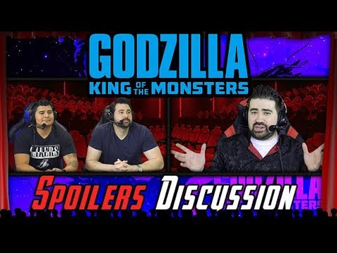 AngryJoeShow - Godzilla king of the monsters - angry spoilers discussion!
