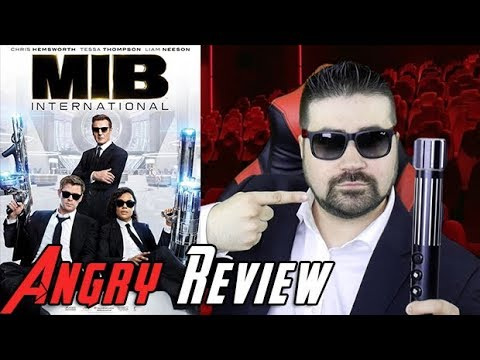 AngryJoeShow - Men in black international angry movie review