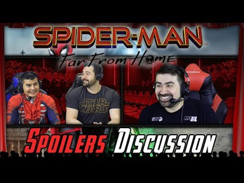 AngryJoeShow - Spider-man far from home angry spoilers discussion!