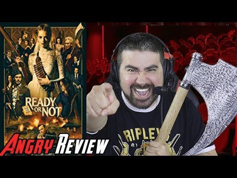 AngryJoeShow - Ready or not angry movie review