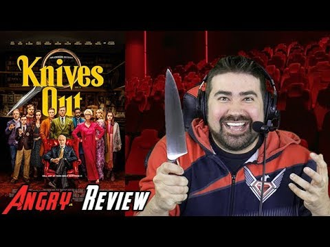 AngryJoeShow - Knives out angry movie review