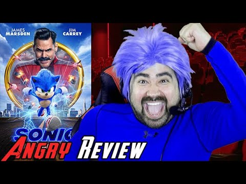 AngryJoeShow - Sonic the hedgehog angry movie review