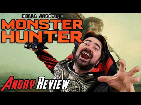 AngryJoeShow - Monster hunter - angry movie review