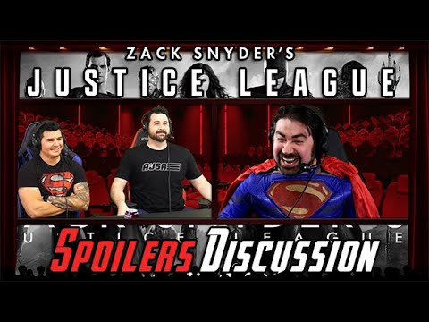 AngryJoeShow - Zack snyder's justice league - angry spoilers discussion review