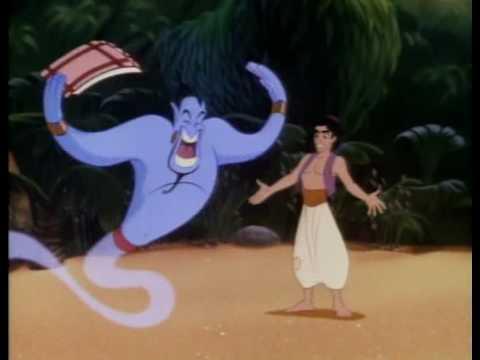 Aladdin (1992) video/trailer