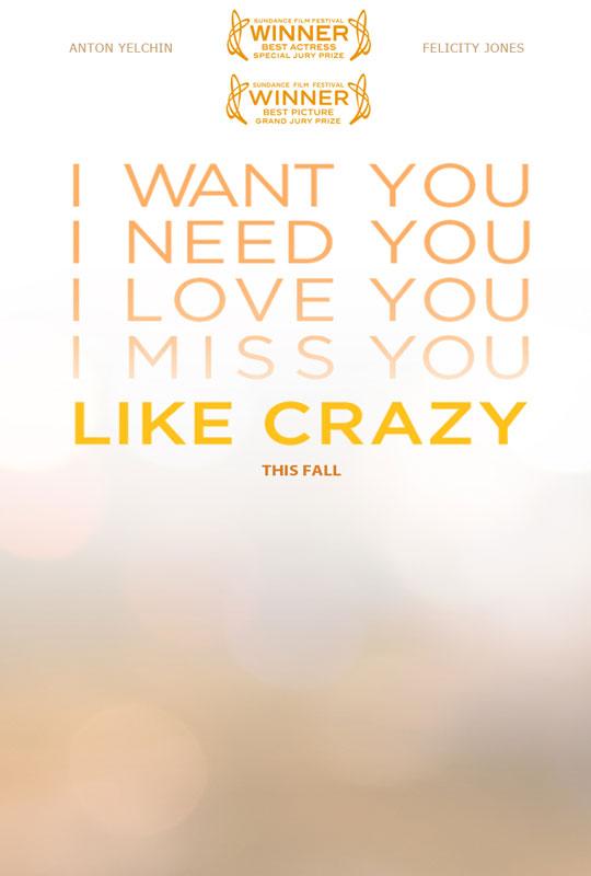 Like Crazy 2011 Filmtotaal