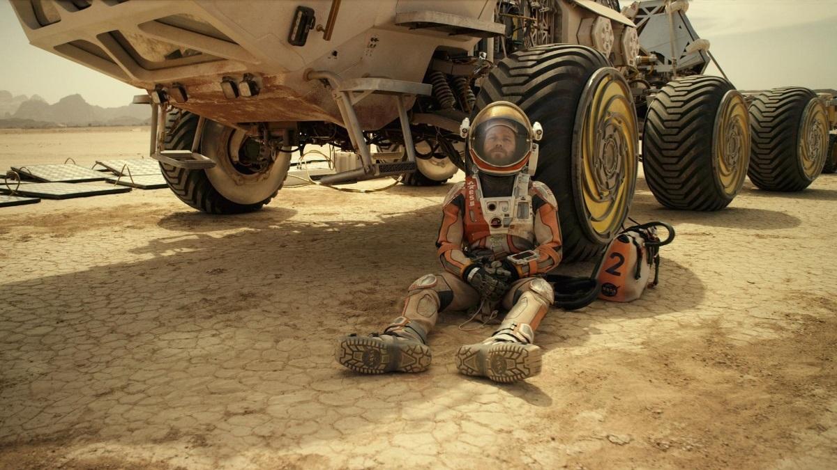 'The Martian' eenzaam aan op in NL Box Office