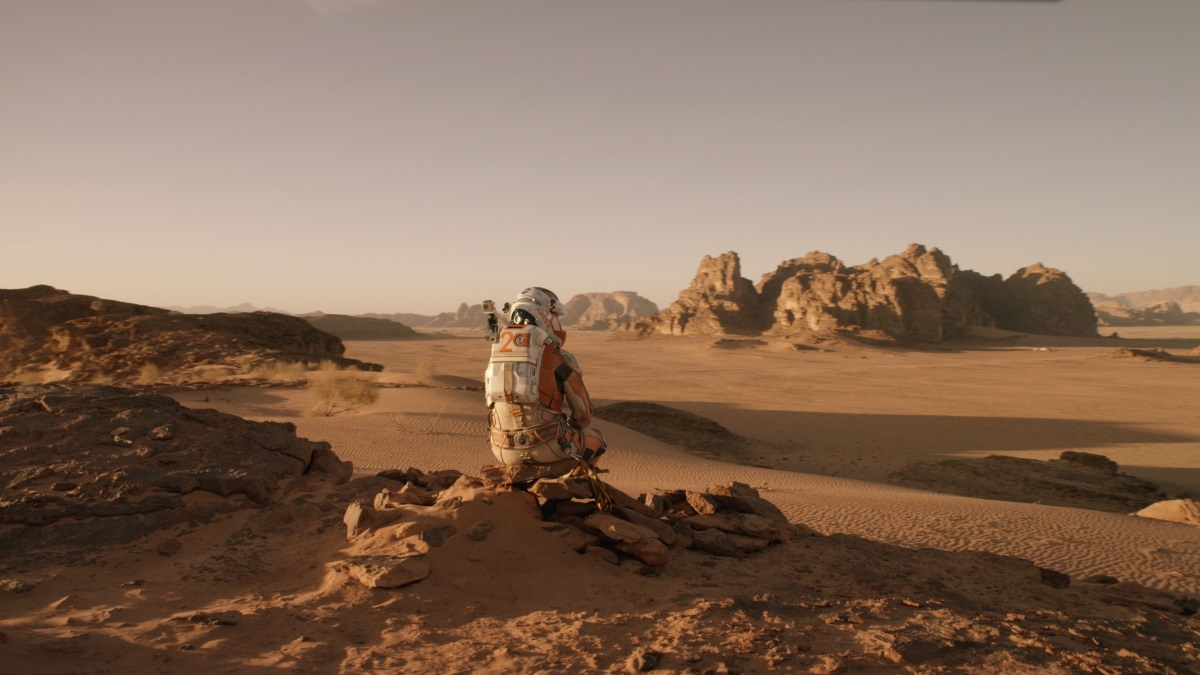 Alles over 'The Martian'