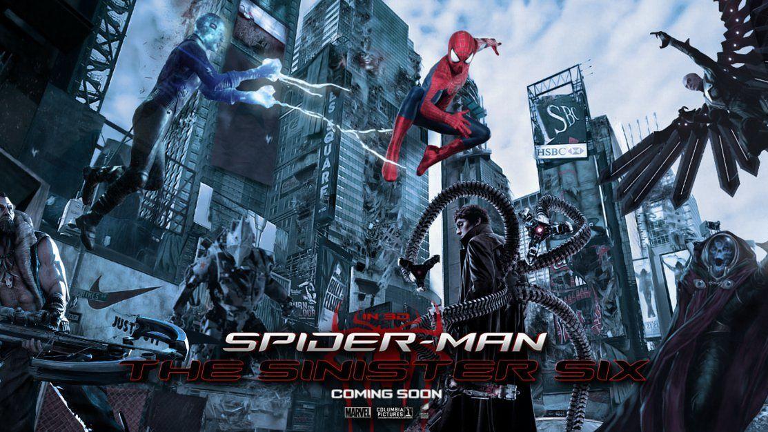Spider-Mans 'Sinister Six' naar het Marvel Cinematic Universe?