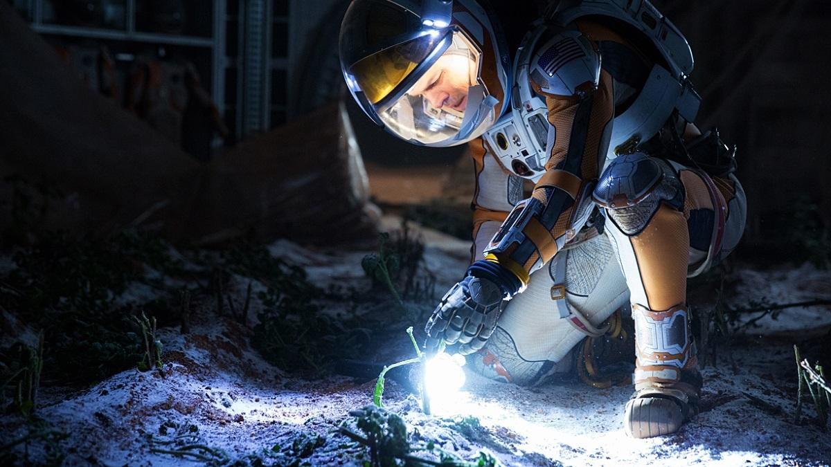 Clip 'The Martian': Mars moet vrezen voor Matt Damons botanische vaardigheden