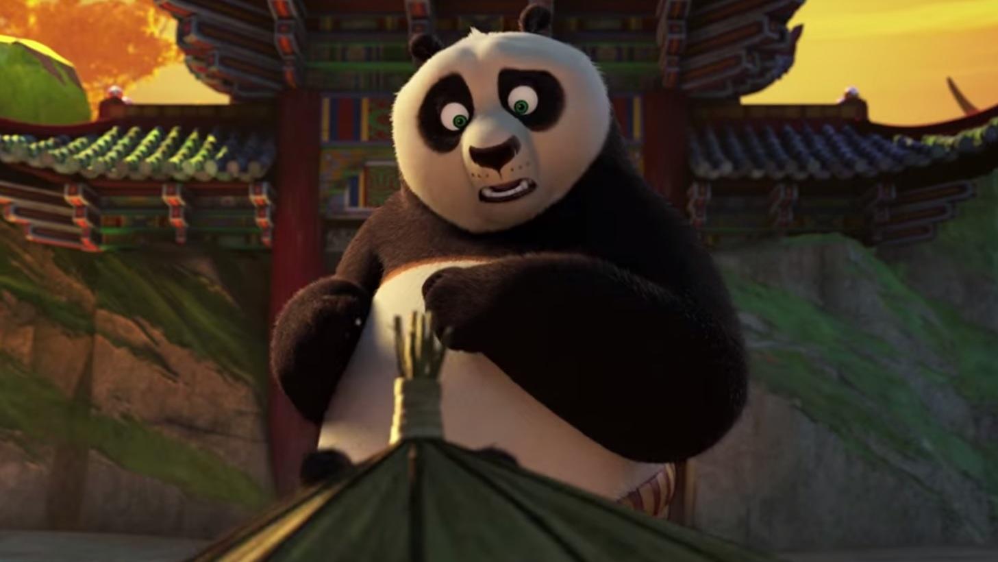 Darth Vader-teaser 'Kung Fu Panda 3'