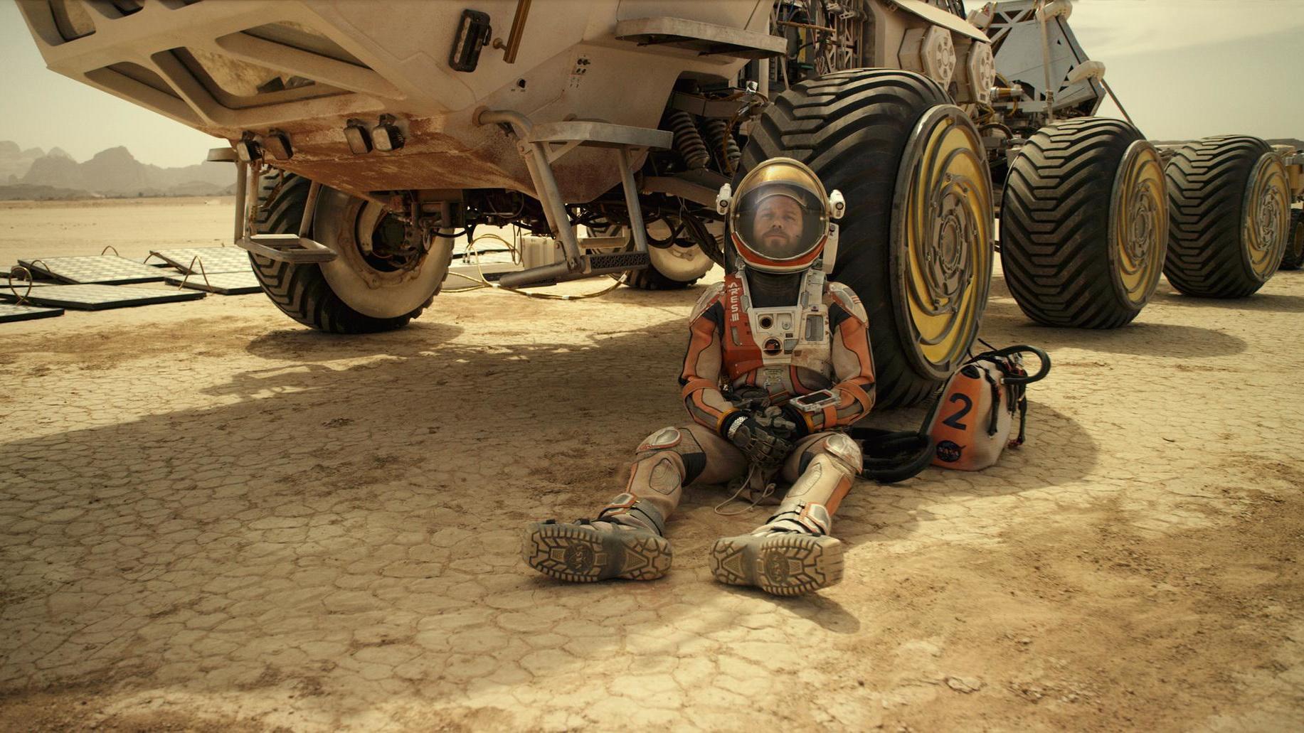 Nieuwe trailer Ridley Scotts 'The Martian' (aanrader!)