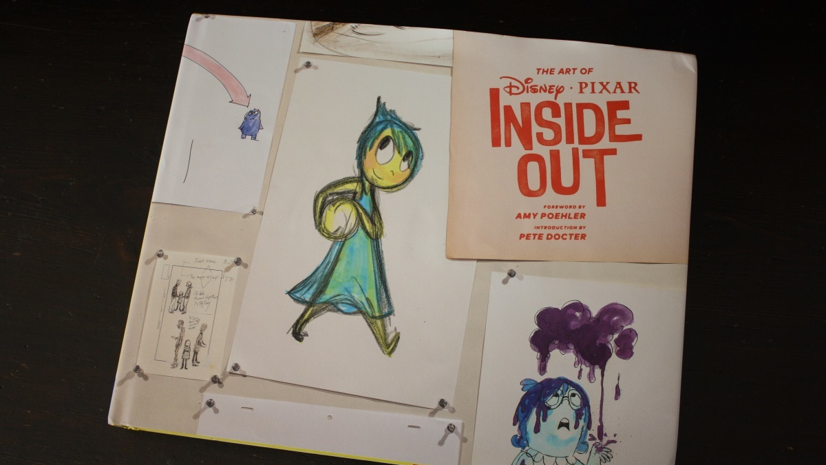 Fraai boek - The Art of Inside Out