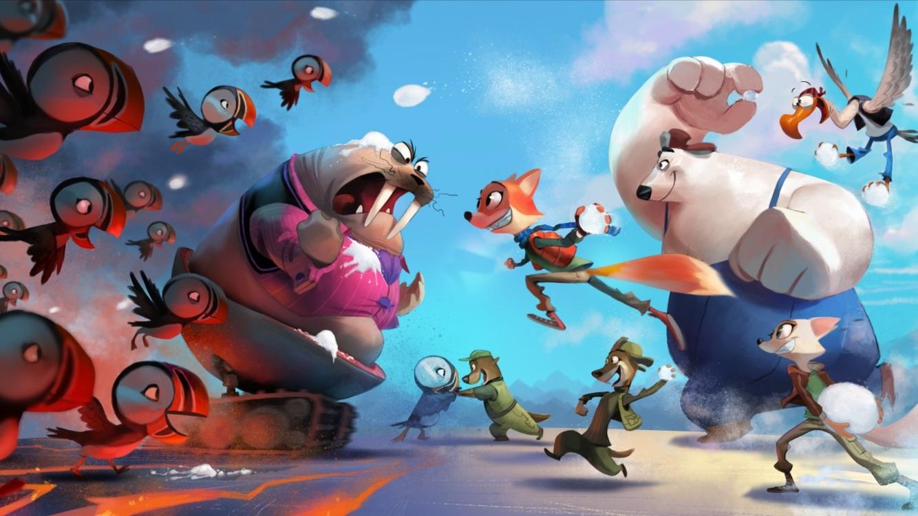 Grote namen te horen in animatiefilm 'Arctic Justice: Thunder Squad'