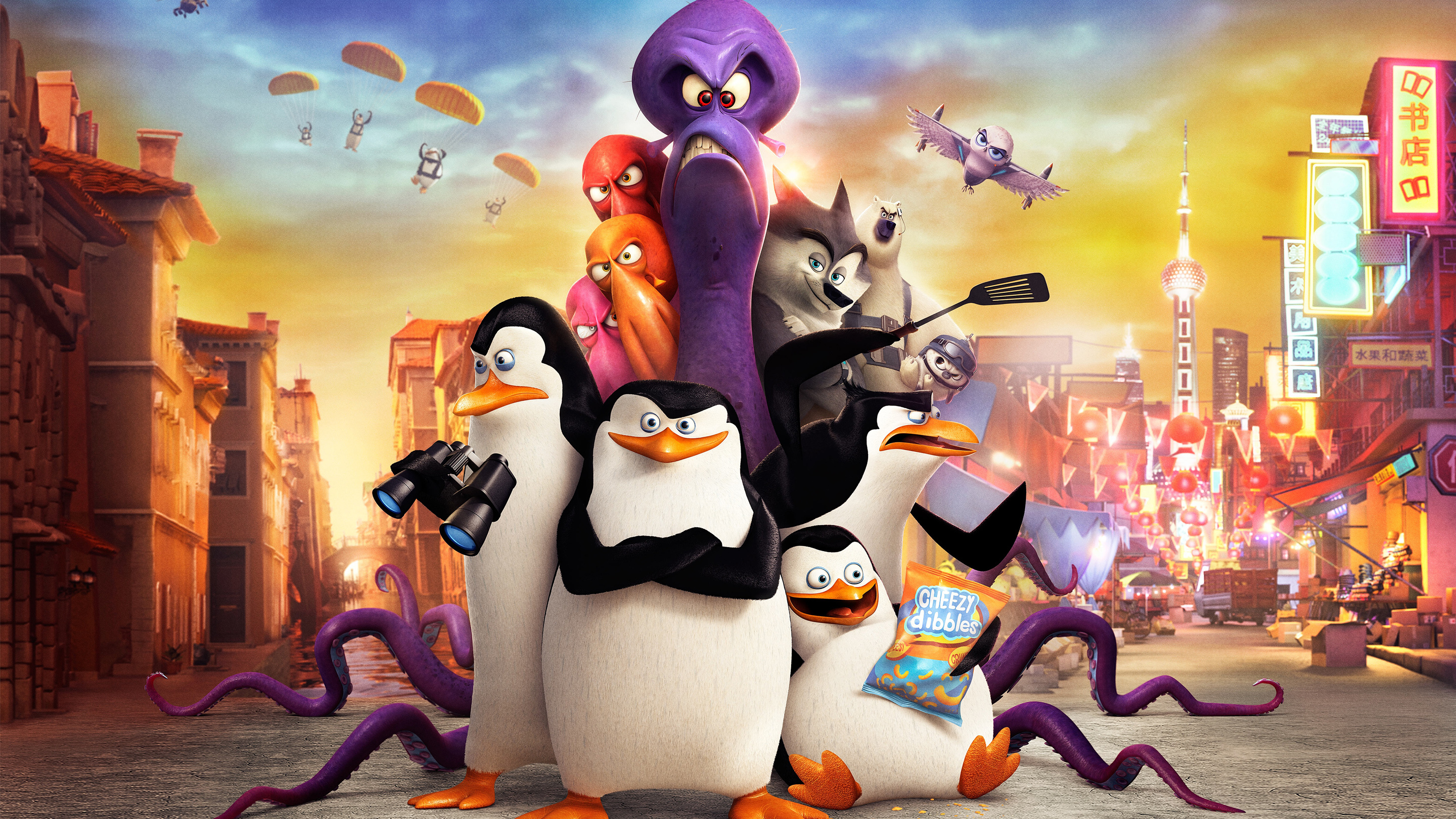 Blu-Ray Review: Penguins of Madagascar