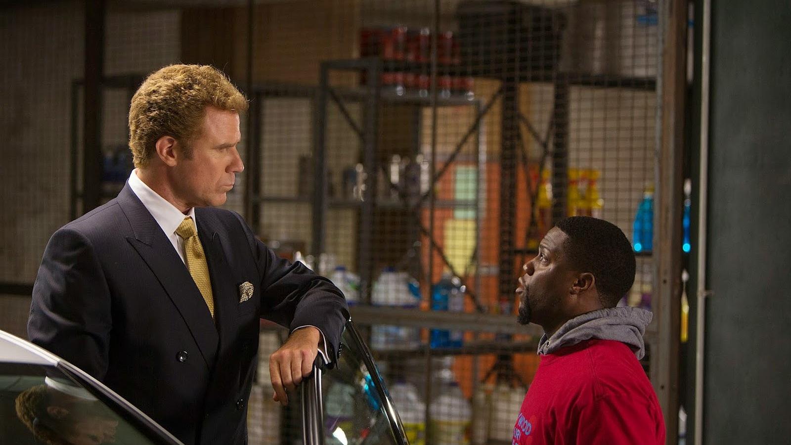 Kevin Hart maakt van Will Ferrell een bikkel in red-band trailer 'Get Hard'