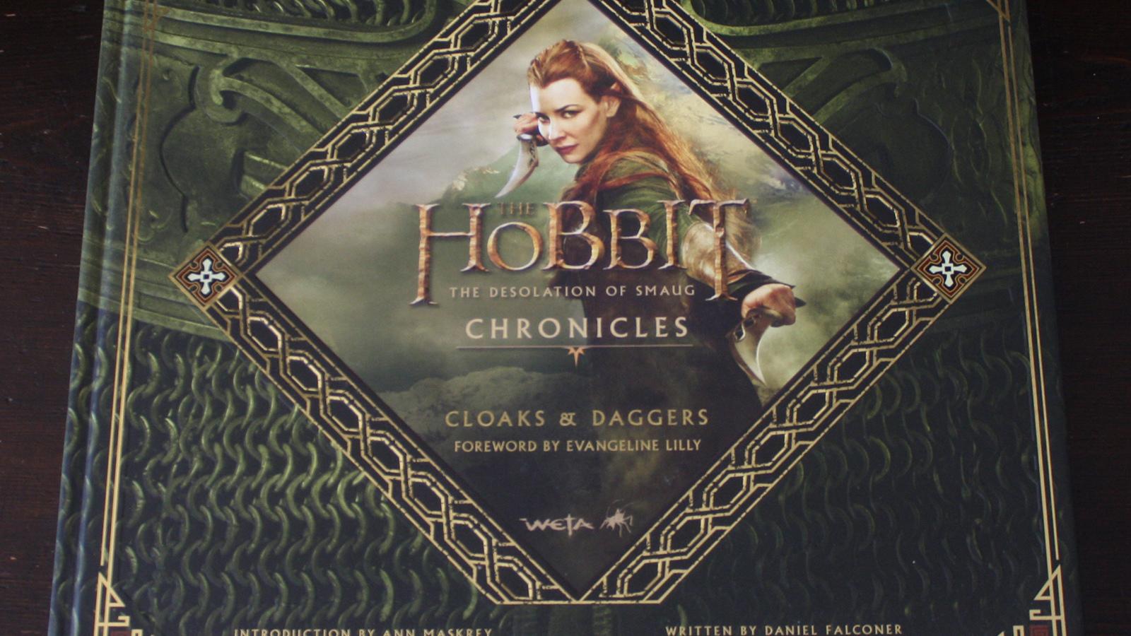 Fraai boek - The Hobbit: The Desolation of Smaug, Chronicles: Cloaks & Daggers