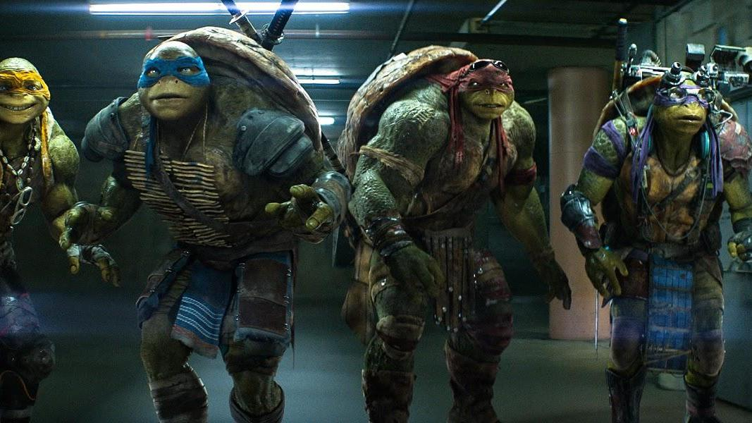 Ongebruikt concept art 'Teenage Mutant Ninja Turtles'