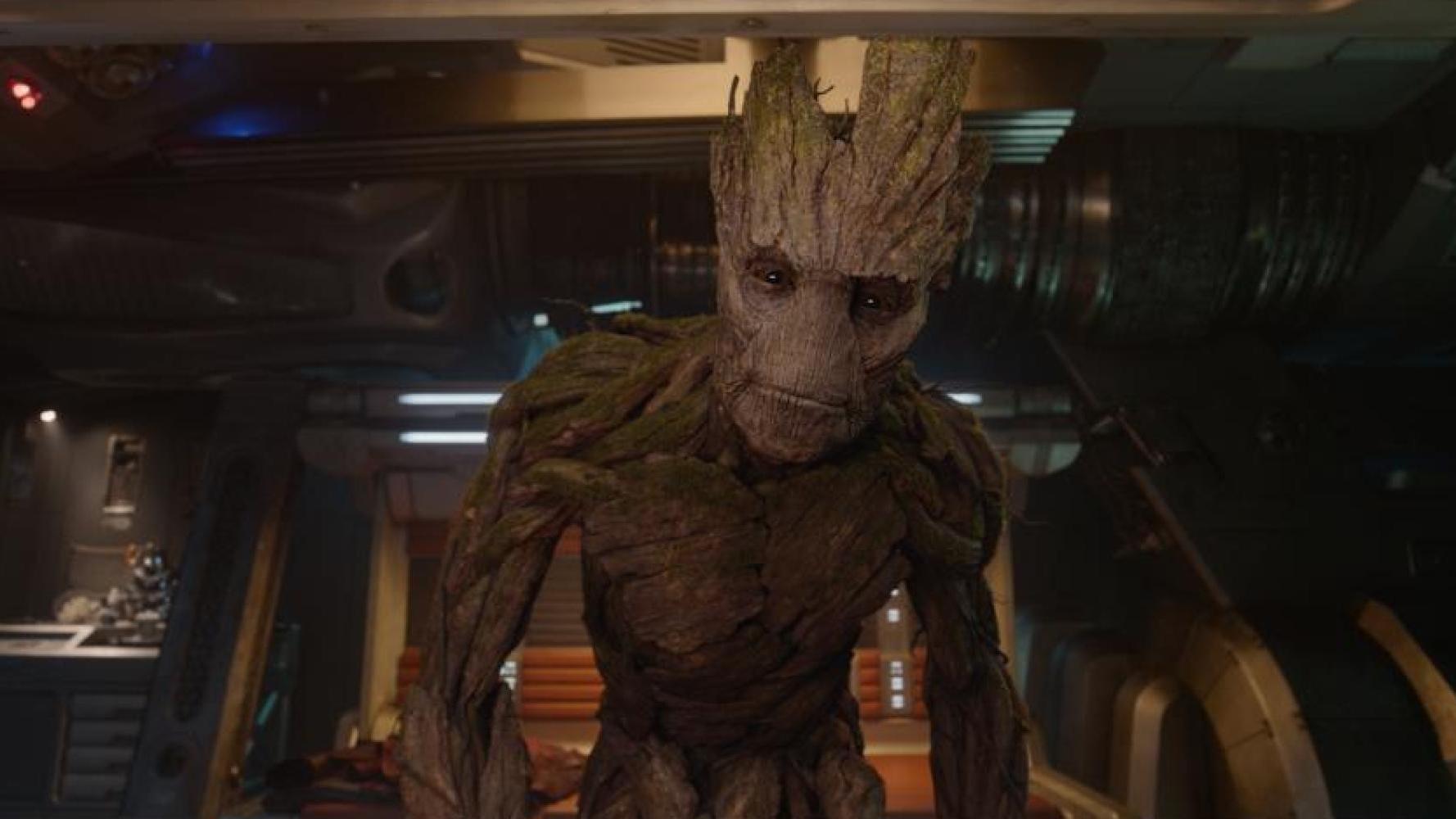 """Marvel onthult de """"Dancing Groot"""" uit 'Guardians of the Galaxy'"""