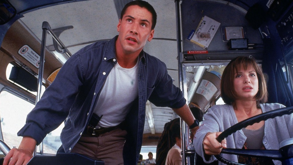 Keanu Reeves in 'Speed 3'?