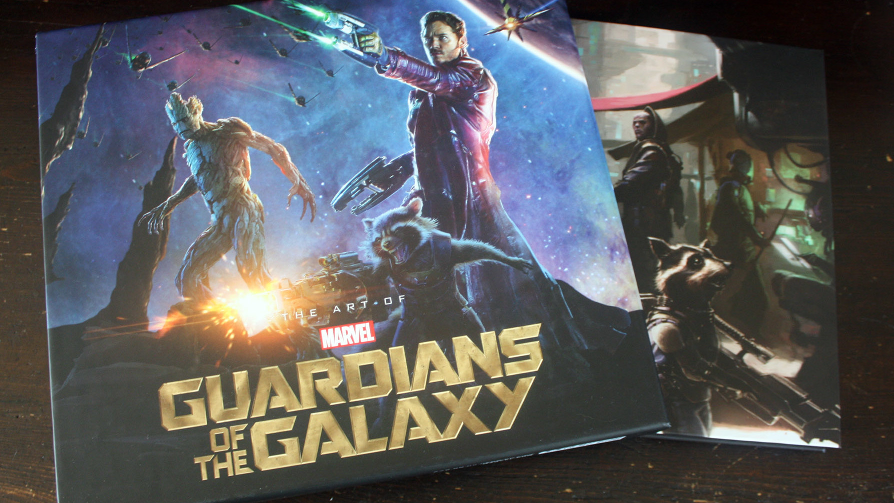 Fraai boek - The Art of Marvel's Guardians of the Galaxy