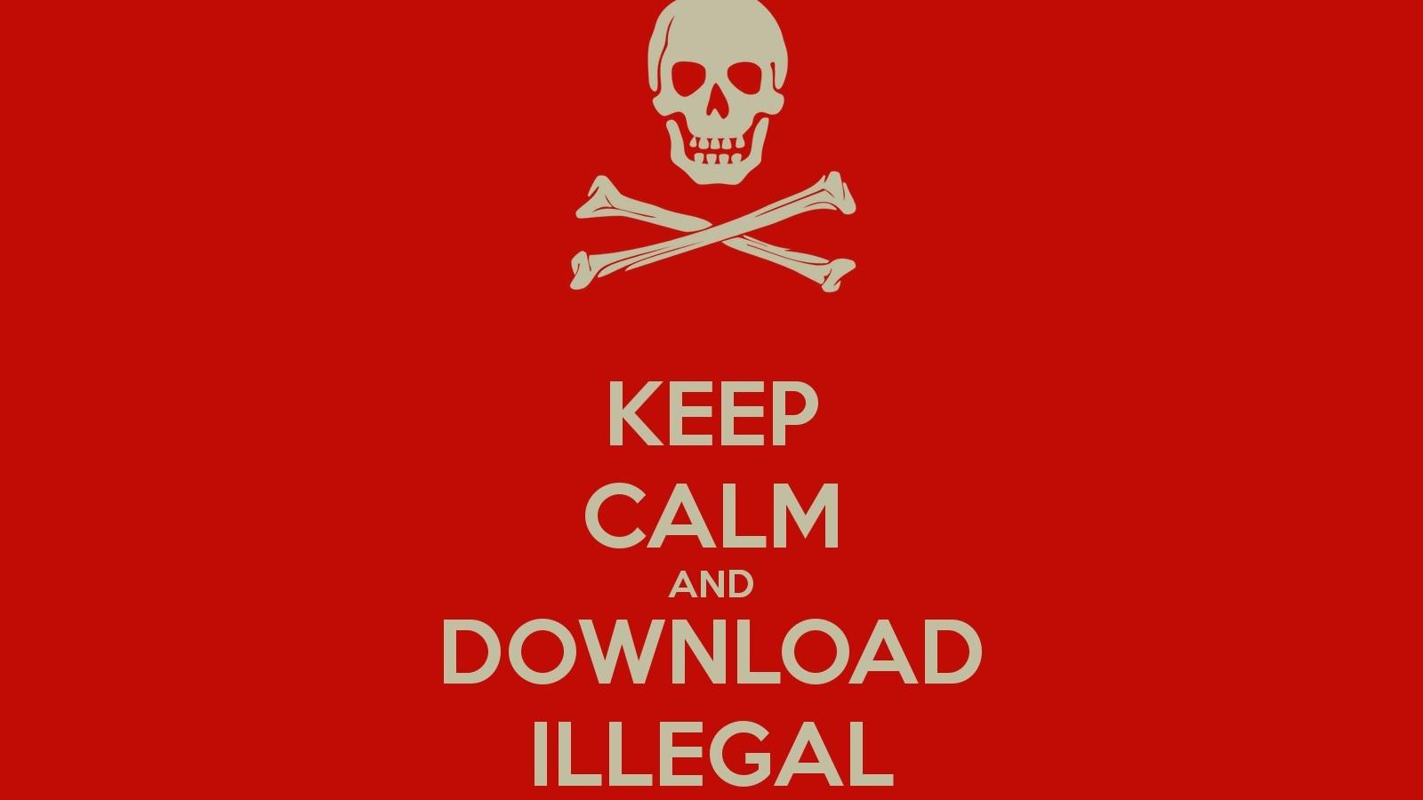"""""""Illegaal downloaden is niet te stoppen"""""""
