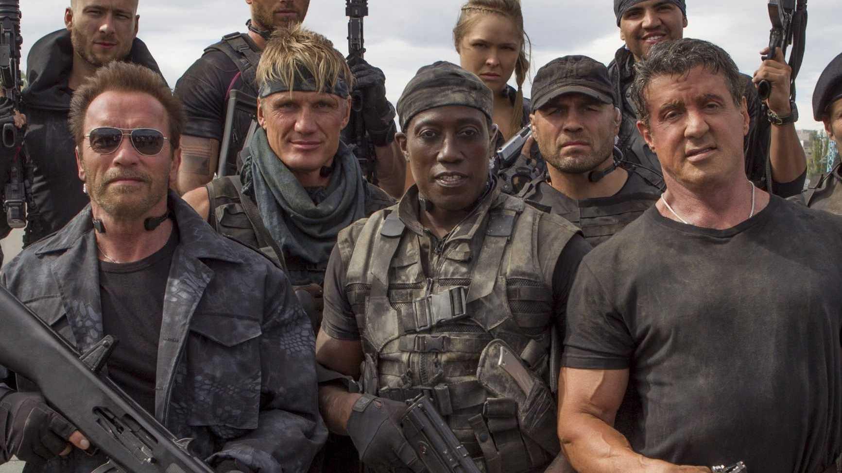 Lionsgate stapt naar de rechter wegens lek 'The Expendables 3'