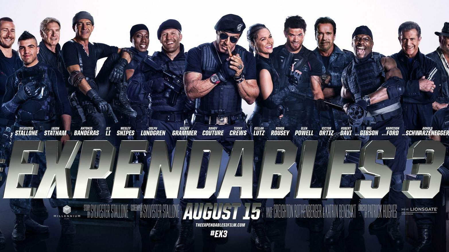 'The Expendables 3' is online gelekt