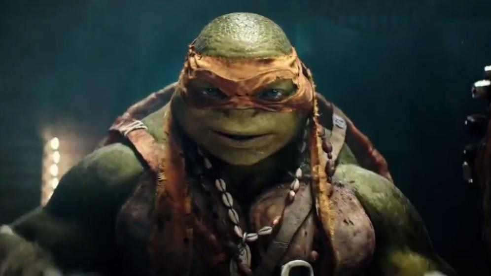 Vier motion-posters 'Teenage Mutant Ninja Turtles'