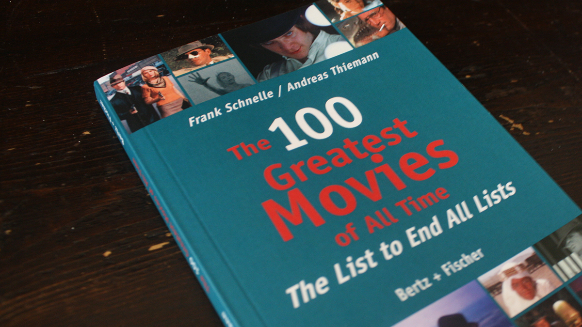 Fraai boek - The 100 Greatest Movies of All Time