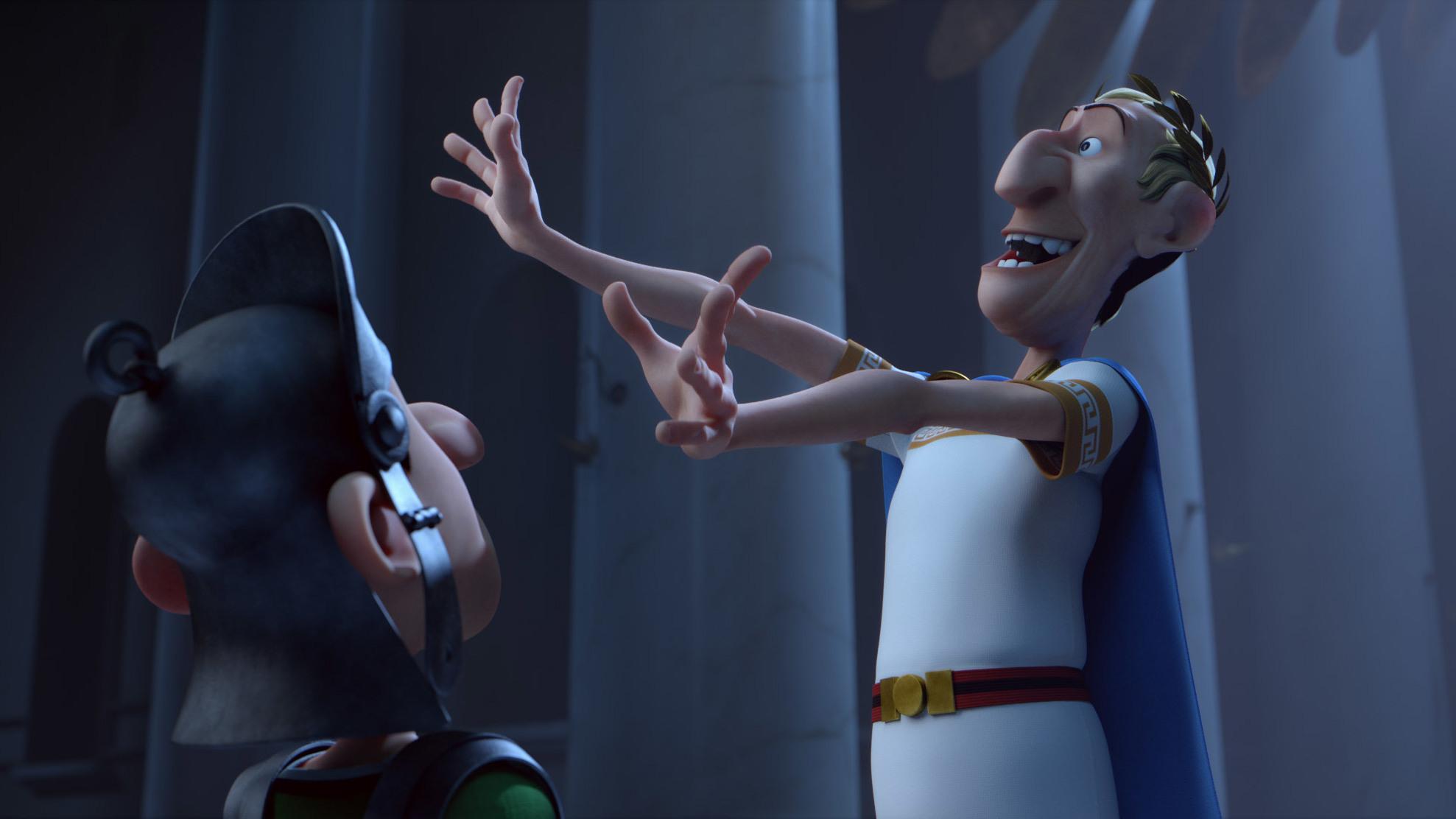 Eerste blik op 'Asterix: Land of the Gods'