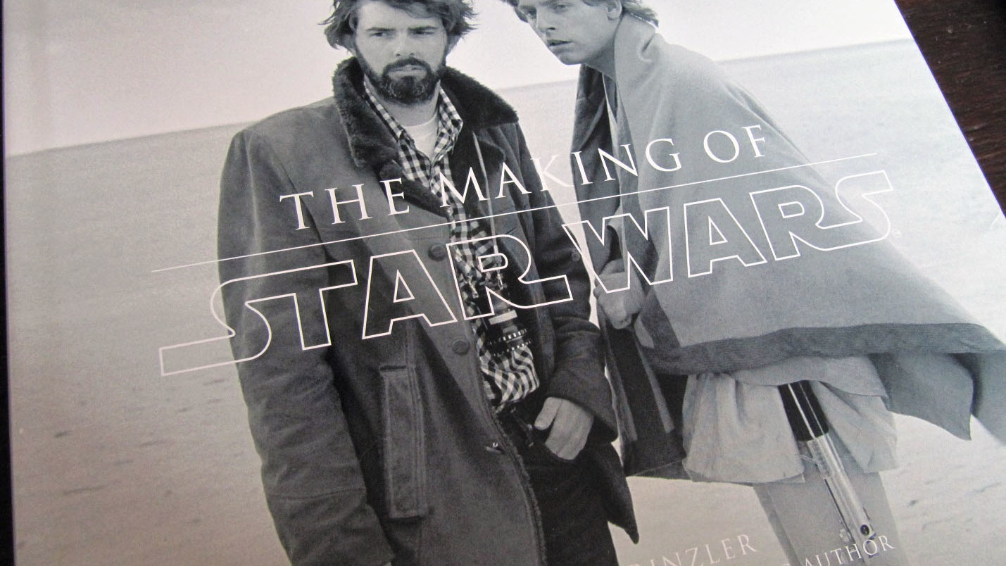 Fraai boek - The Making of Star Wars