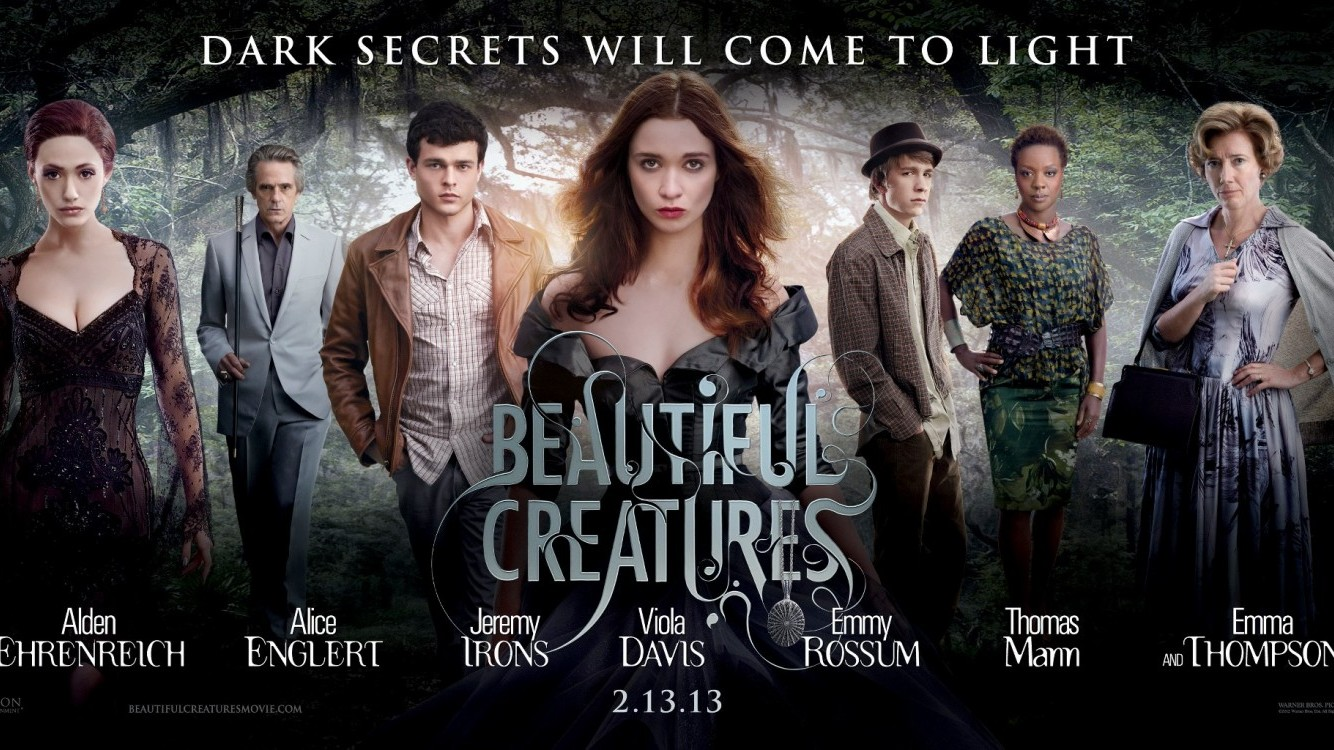 Nieuwe trailer 'Beautiful Creatures'