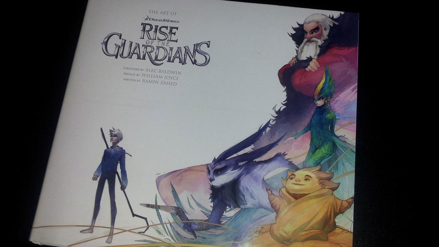 Fraai boek - The Art of Rise of the Guardians