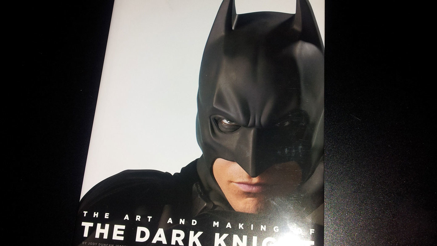Fraai boek: The Art and Making of The Dark Knight Trilogy