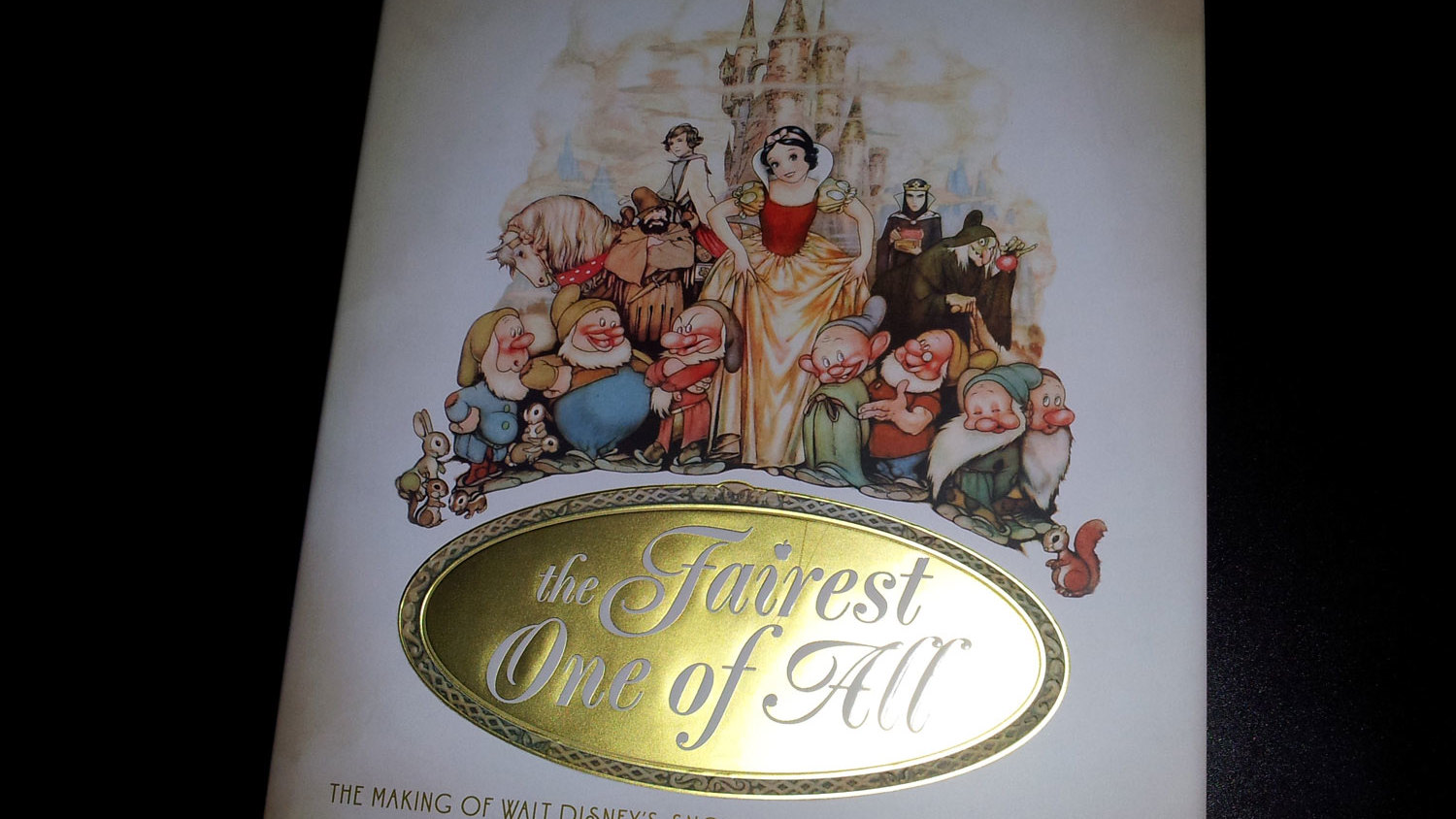 Fraai boek - The Fairest One of All: The Making of Walt Disney's Snow White and the Seven Dwarfs