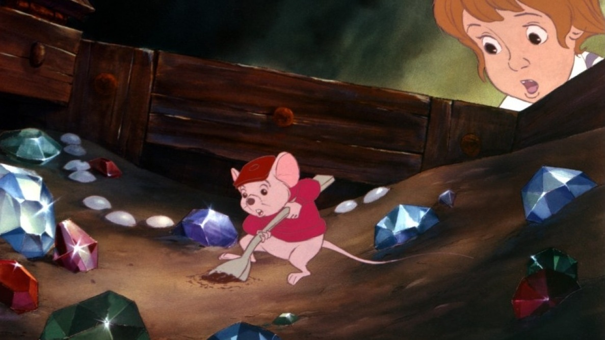 Blu-Ray Review: The Rescuers & The Rescuers Down Under