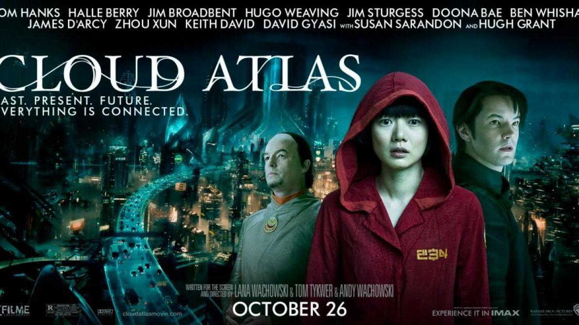 Zeven banners 'Cloud Atlas'