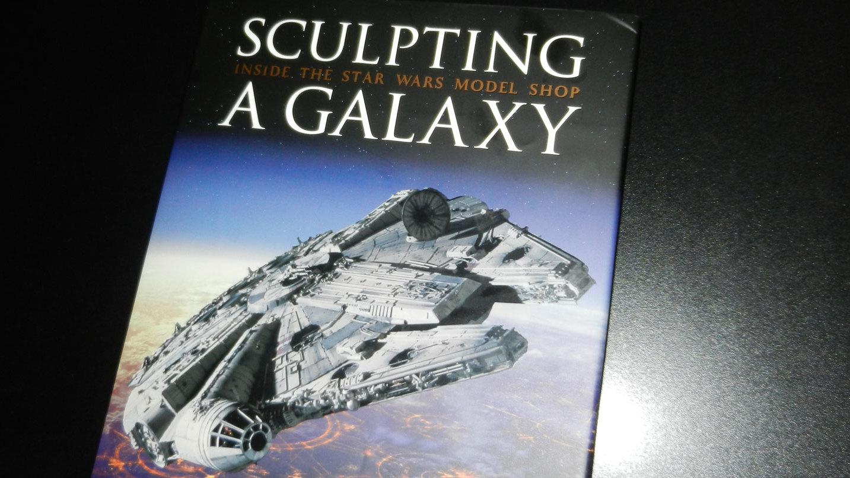 Fraai boek - Sculpting a Galaxy: Inside The Star Wars Model Shop