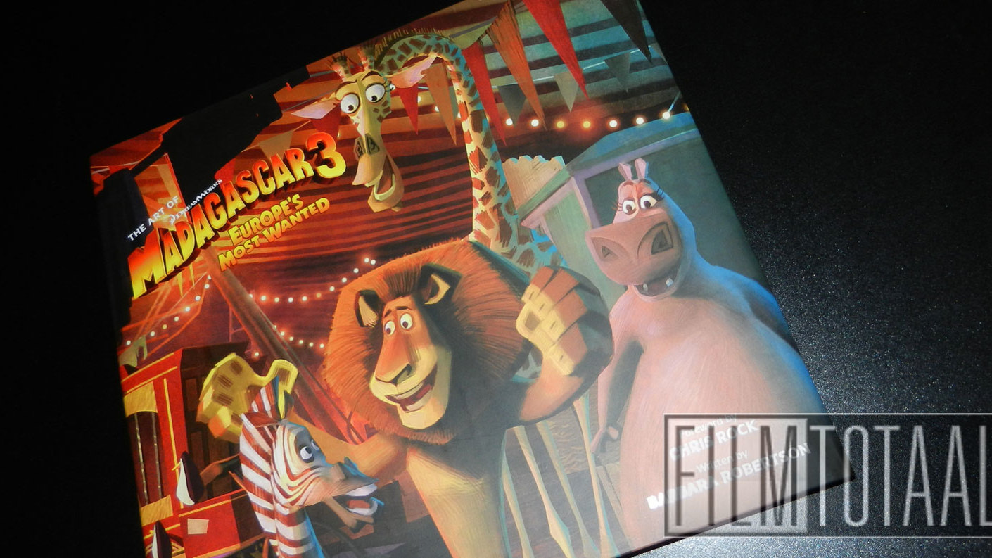 Fraai boek - The Art of Madagascar 3: Europe's Most Wanted