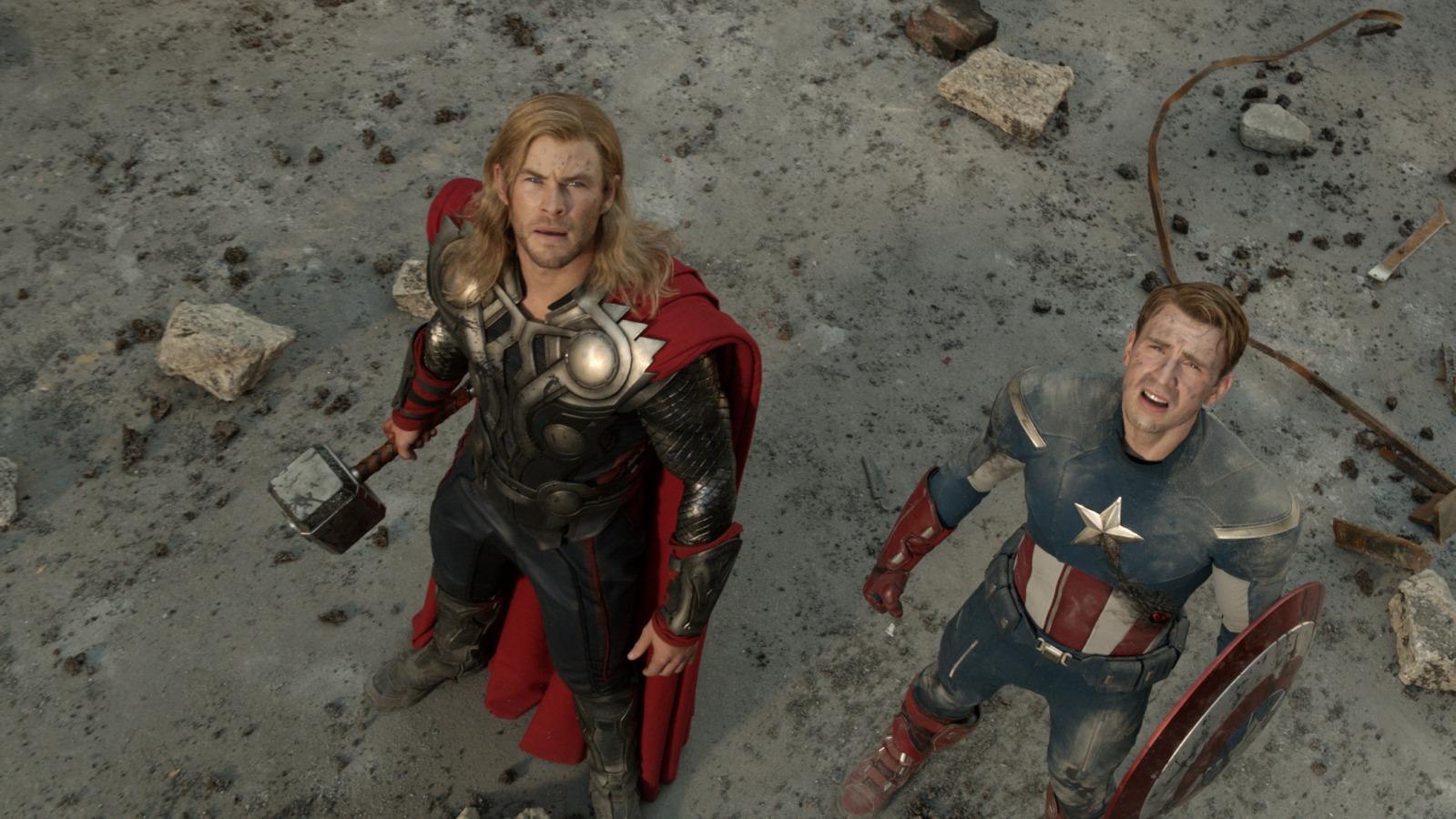 Officiële foto's uit The Avengers