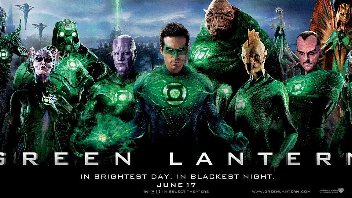 Twee nieuwe Green Lantern posters