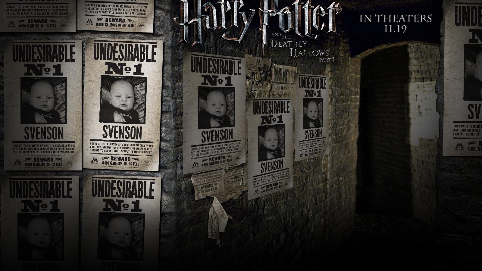 Maak je eigen Harry Potter poster (aanrader)