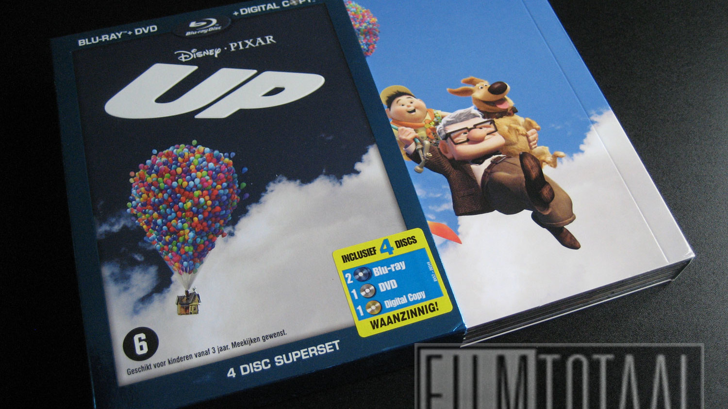 Blu-Ray Review: Up (4 disc Superset)