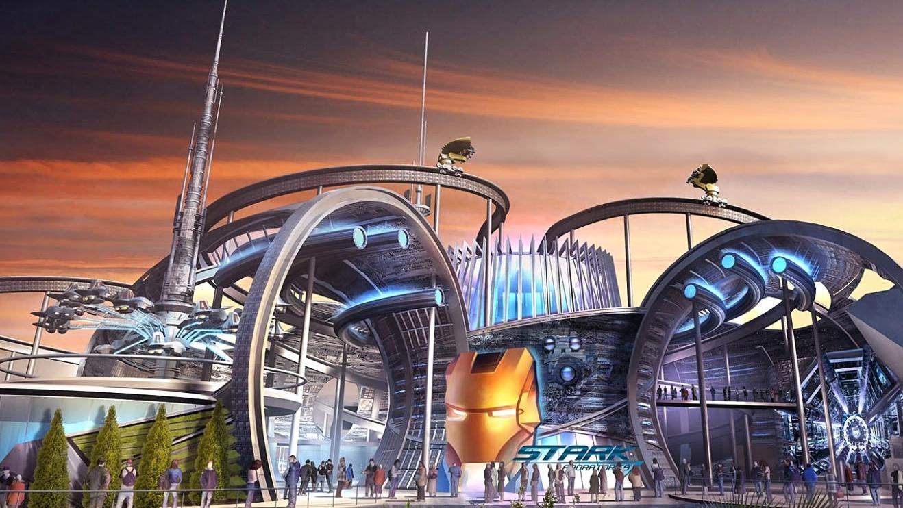 Concept art: Marvel Superheroes pretpark