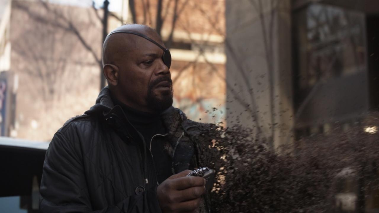 Marvel-baas over waarom Nick Fury niet eerder Captain Marvel piepte
