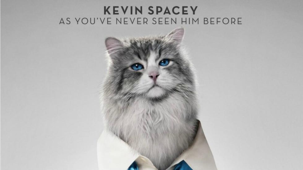 Kevin Spacey als kat in eerste trailer 'Nine Lives'