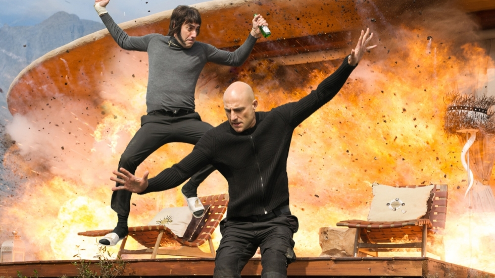 Sacha Baron Cohen en Mark Strong op nieuwe poster 'The Brothers Grimsby'