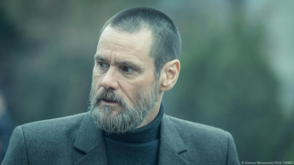 Eerste foto's 'True Crimes' met Jim Carrey